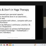 International Yoga Day- 21st June 2021 celebration at HKCP -3